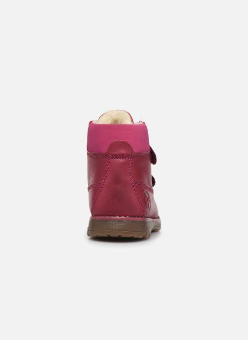 Chaussures à scratch Primigi Aspy Rose vue droite