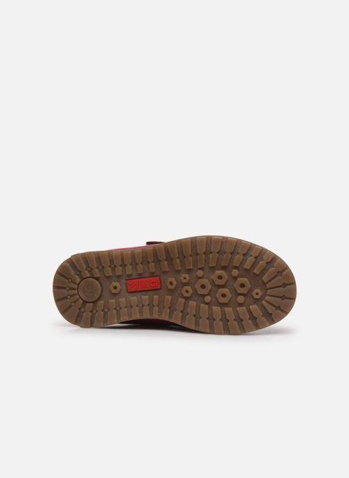Chaussures à scratch Primigi Aspy Rose vue haut