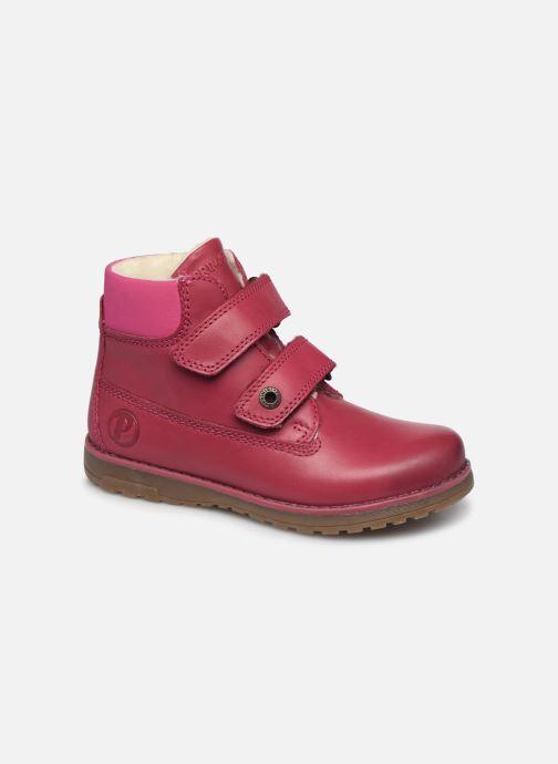 Zapatos con velcro Primigi Aspy Rosa vista de detalle / par