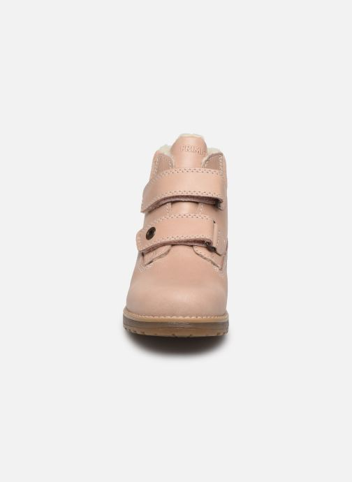Zapatos con velcro Primigi Aspy Rosa vista del modelo