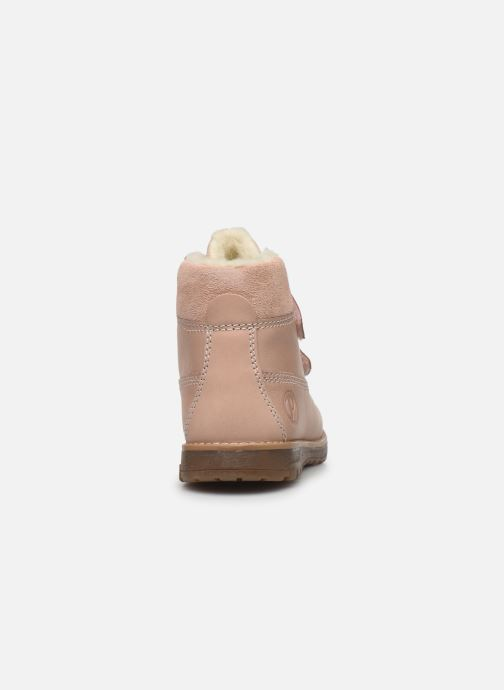 Zapatos con velcro Primigi Aspy Rosa vista lateral derecha