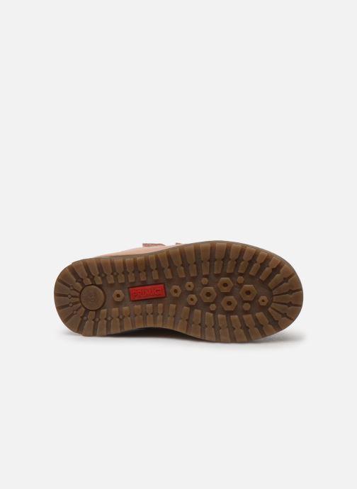 Zapatos con velcro Primigi Aspy Rosa vista de arriba