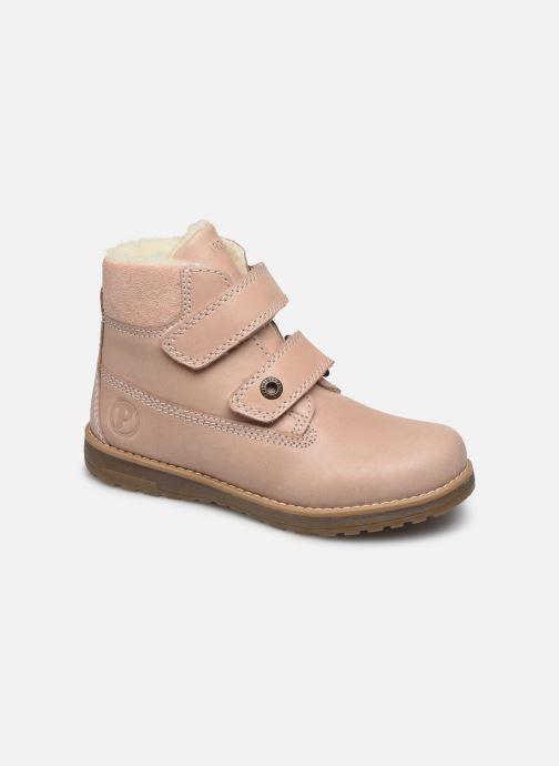 Chaussures à scratch Primigi Aspy Rose vue détail/paire