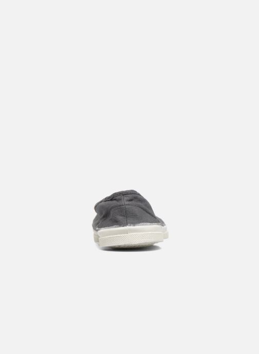 Ballet pumps Bensimon Ballerine Grey view from the right