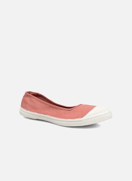 1204128f336 Ballerinaer Bensimon Ballerine Pink detaljeret billede af skoene