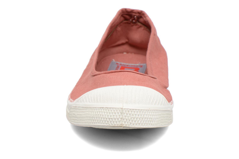 Ballerines Bensimon Ballerine Rose vue portées chaussures