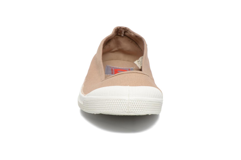 Ballerines Bensimon Ballerine Beige vue portées chaussures