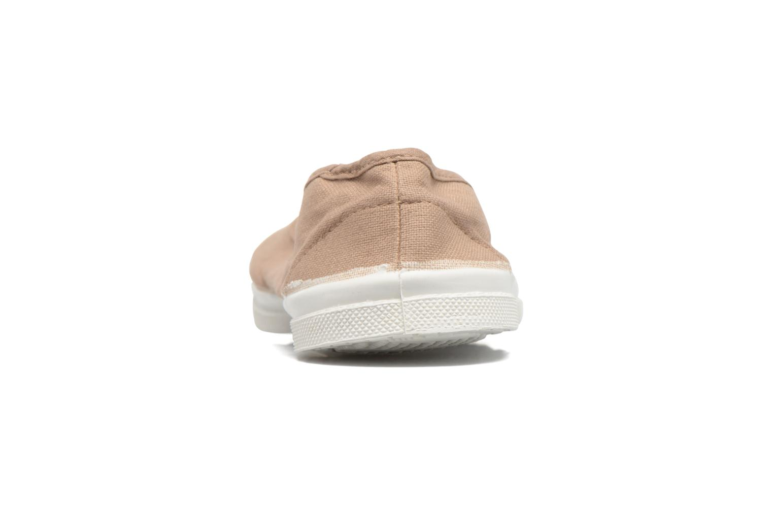 Ballet pumps Bensimon Ballerine Beige view from the right