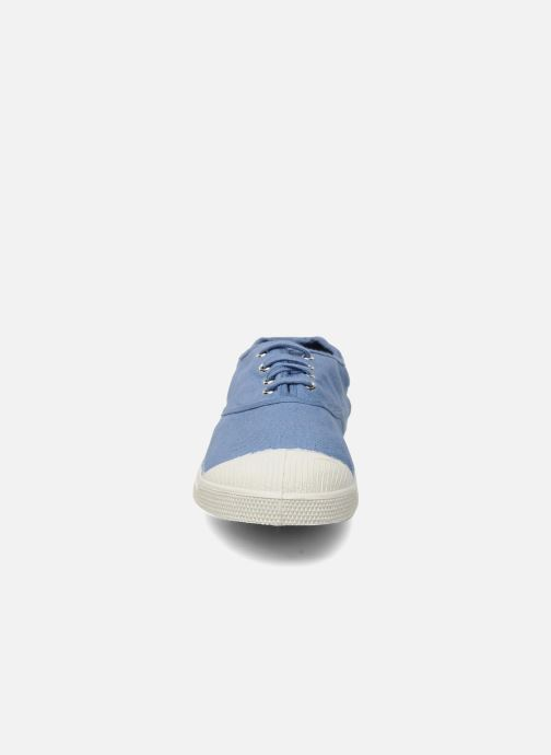 Trainers Bensimon Tennis Lacets H Blue model view
