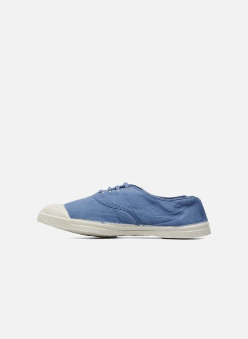 Trainers Bensimon Tennis Lacets H Blue front view