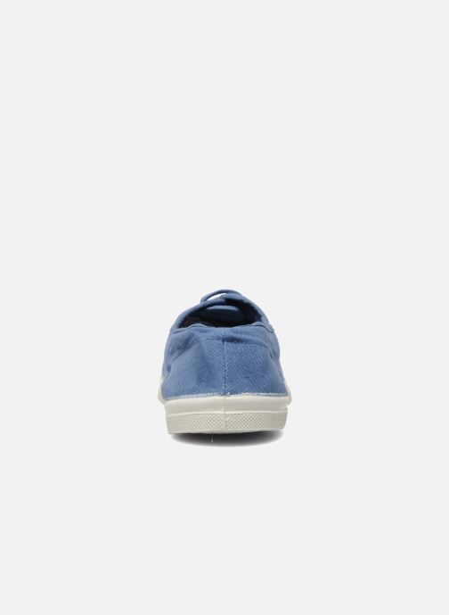 Trainers Bensimon Tennis Lacets H Blue view from the right