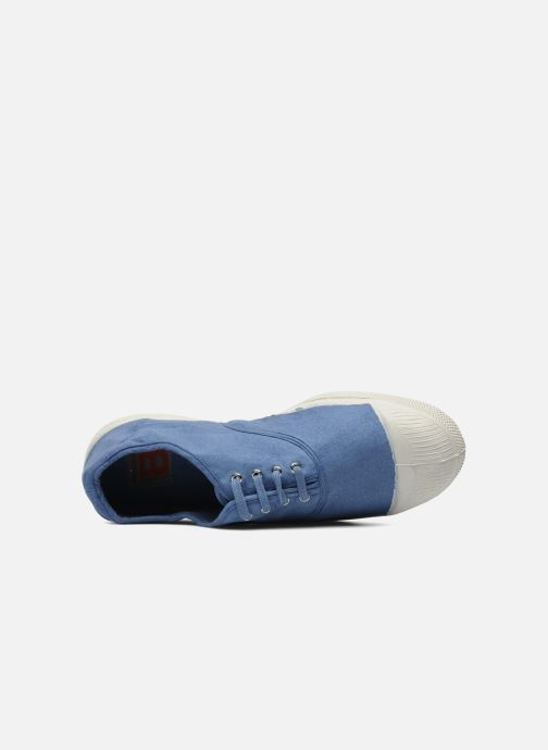 Trainers Bensimon Tennis Lacets H Blue view from the left