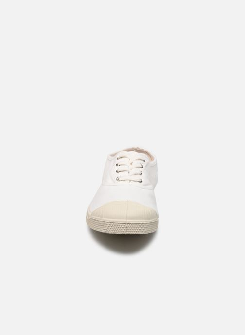 Trainers Bensimon Tennis Lacets H White model view