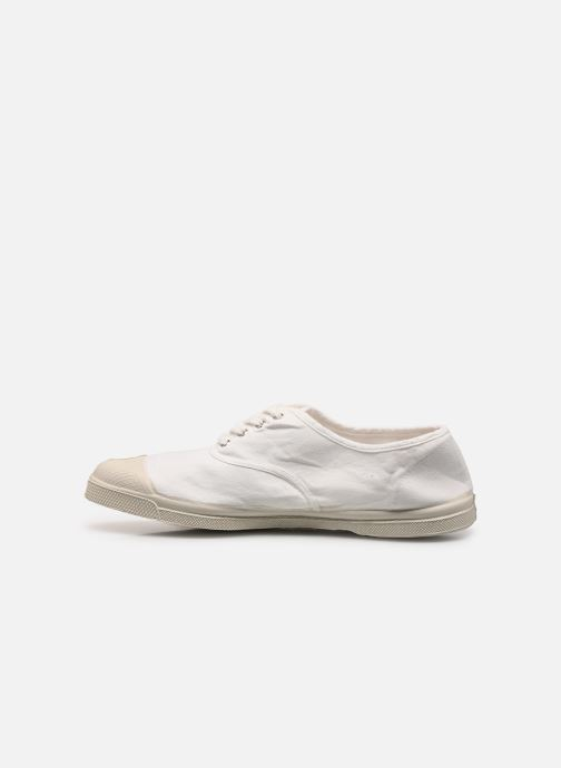 Baskets Bensimon Tennis Lacets H Blanc vue face