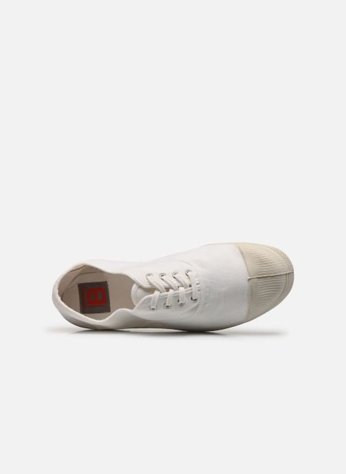 Trainers Bensimon Tennis Lacets H White view from the left
