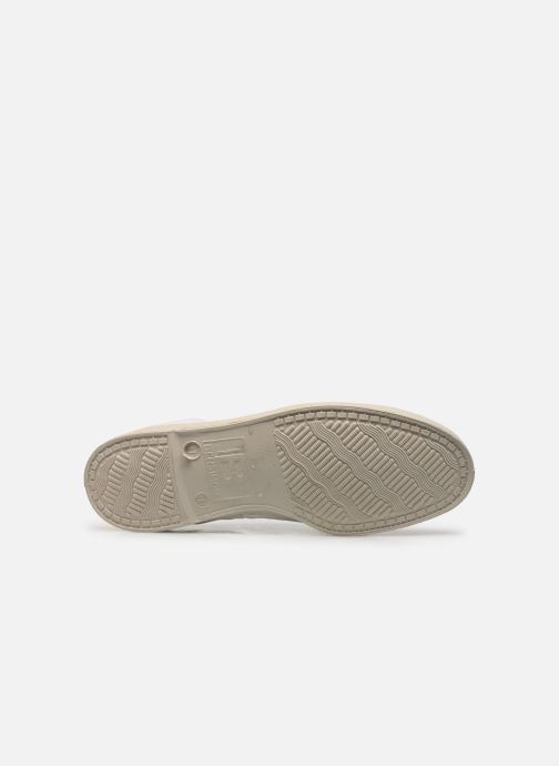 Baskets Bensimon Tennis Lacets H Blanc vue haut