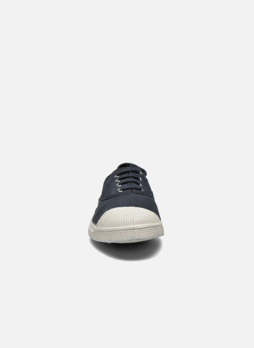 Baskets Bensimon Tennis Lacets H Noir vue portées chaussures