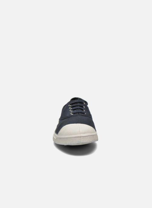Sneaker Bensimon Tennis Lacets H schwarz schuhe getragen
