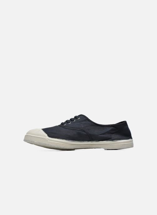 Trainers Bensimon Tennis Lacets H Black front view