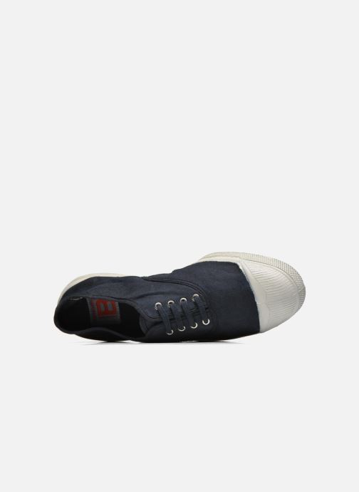 Trainers Bensimon Tennis Lacets H Black view from the left