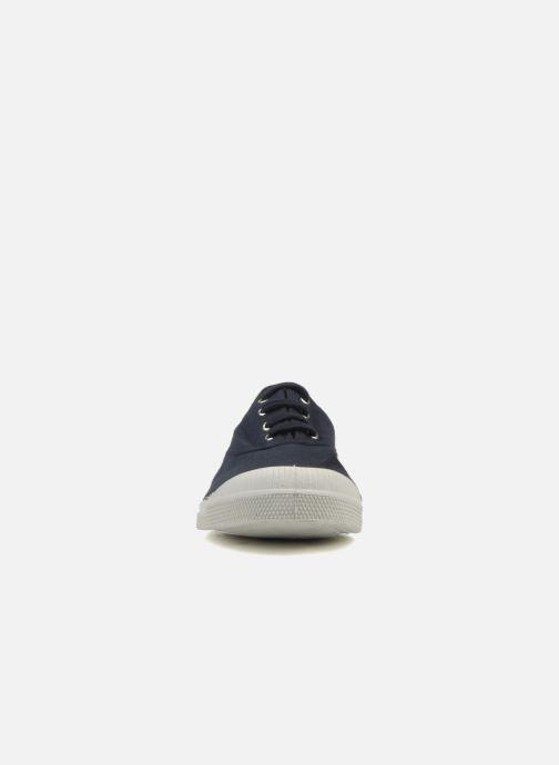 Sneakers Bensimon Tennis Lacets H Azzurro modello indossato