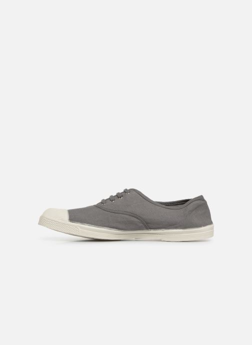 Baskets Bensimon Tennis Lacets H Gris vue face