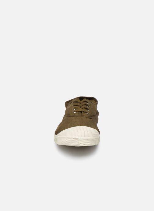 Baskets Bensimon Tennis Lacets H Vert vue portées chaussures