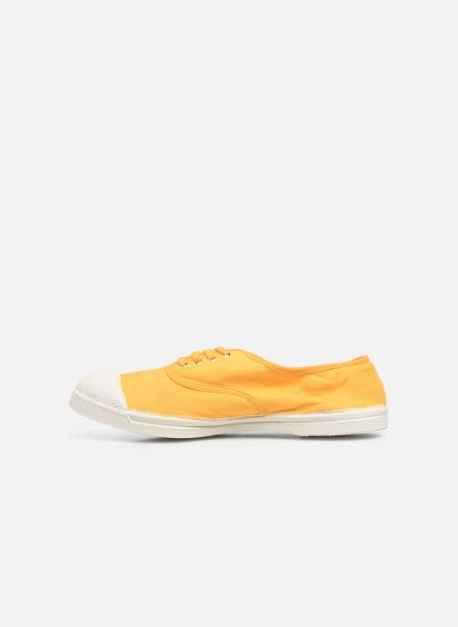 Sneaker Bensimon Tennis Lacets H gelb ansicht von vorne