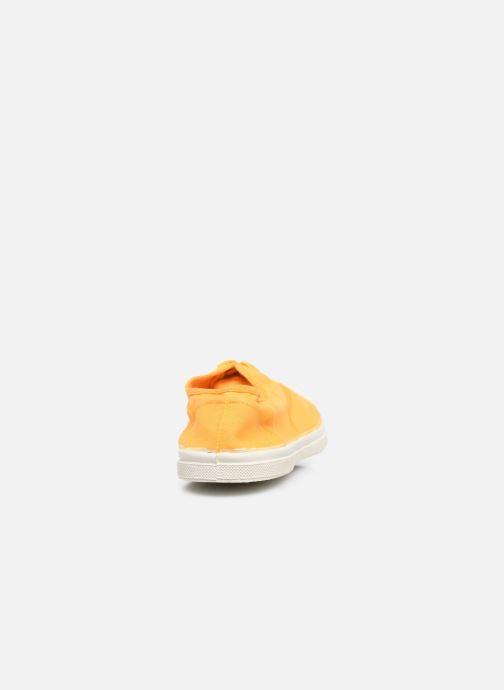 Sneaker Bensimon Tennis Lacets H gelb ansicht von rechts