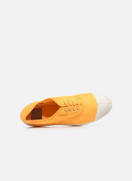 Sneaker Bensimon Tennis Lacets H gelb ansicht von links
