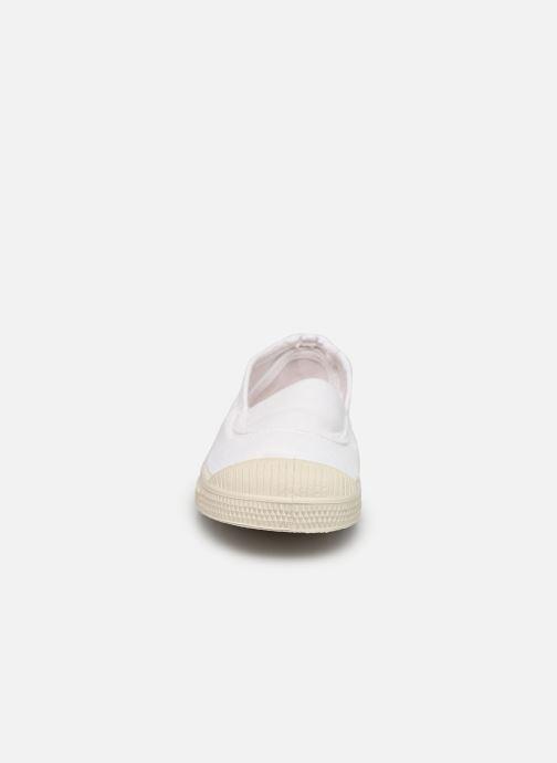 Baskets Bensimon Tennis Elastique E Blanc vue portées chaussures