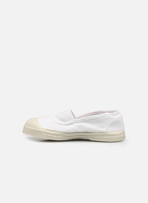 Baskets Bensimon Tennis Elastique E Blanc vue face