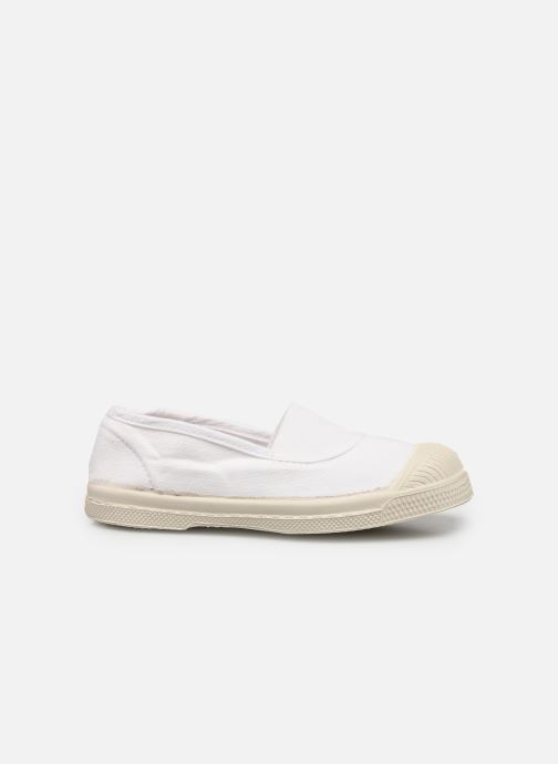 Sneakers Bensimon Tennis Elastique E Wit achterkant
