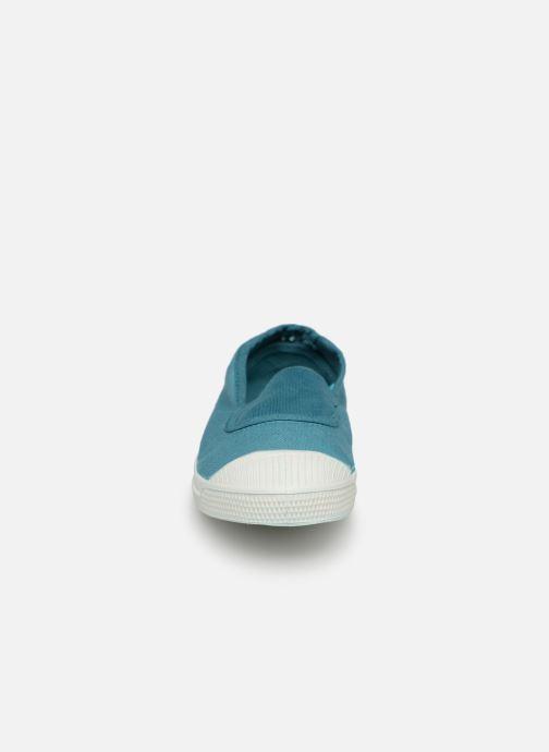 Baskets Bensimon Tennis Elastique E Bleu vue portées chaussures