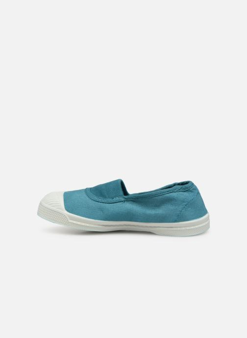 Trainers Bensimon Tennis Elastique E Blue front view