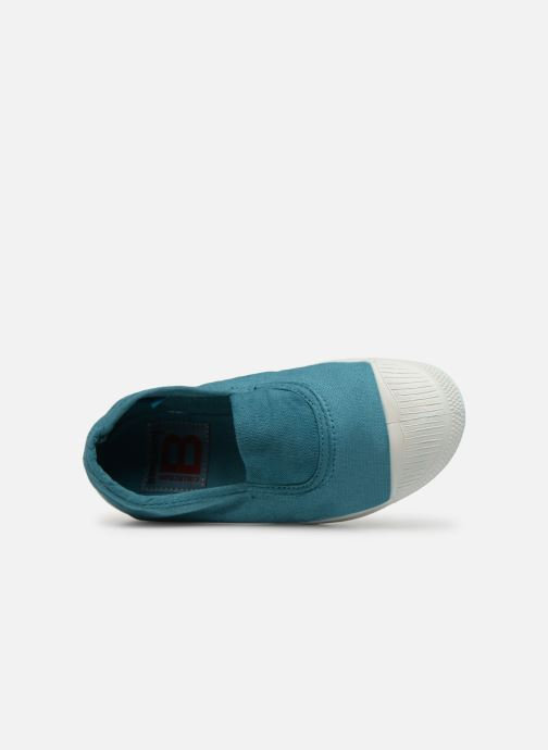 Trainers Bensimon Tennis Elastique E Blue view from the left