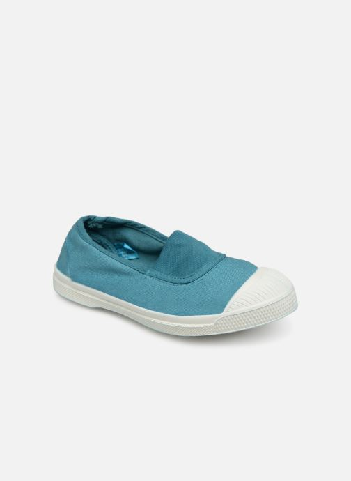 Trainers Bensimon Tennis Elastique E Blue detailed view/ Pair view