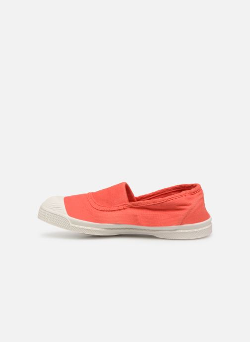 Trainers Bensimon Tennis Elastique E Red front view