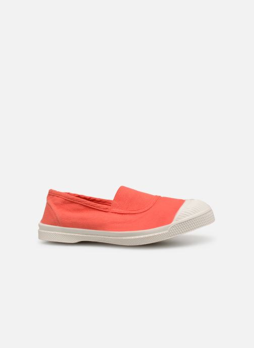 Trainers Bensimon Tennis Elastique E Red back view