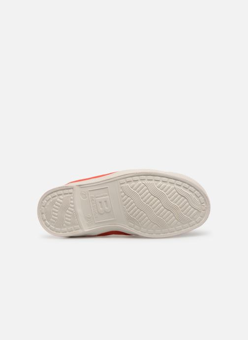 Trainers Bensimon Tennis Elastique E Red view from above