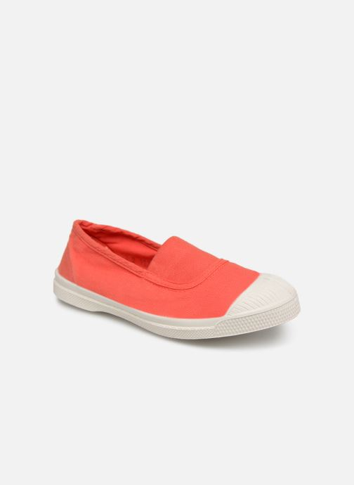 Trainers Bensimon Tennis Elastique E Red detailed view/ Pair view