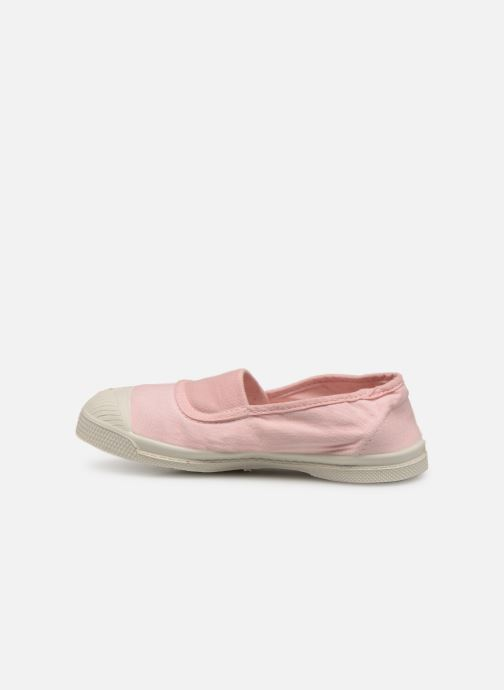 Baskets Bensimon Tennis Elastique E Rose vue face