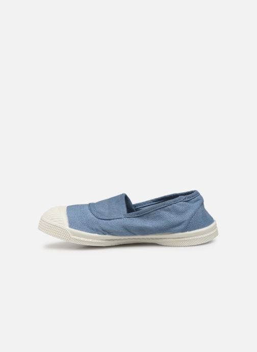 Baskets Bensimon Tennis Elastique E Bleu vue face