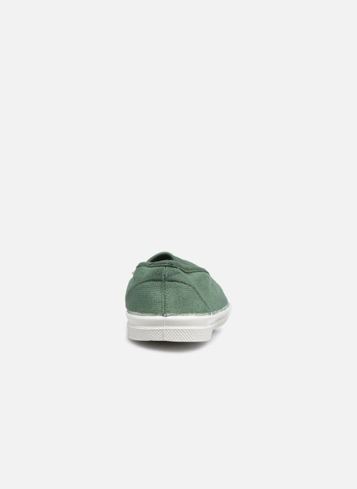 Sneakers Bensimon Tennis Elastique E Verde immagine destra