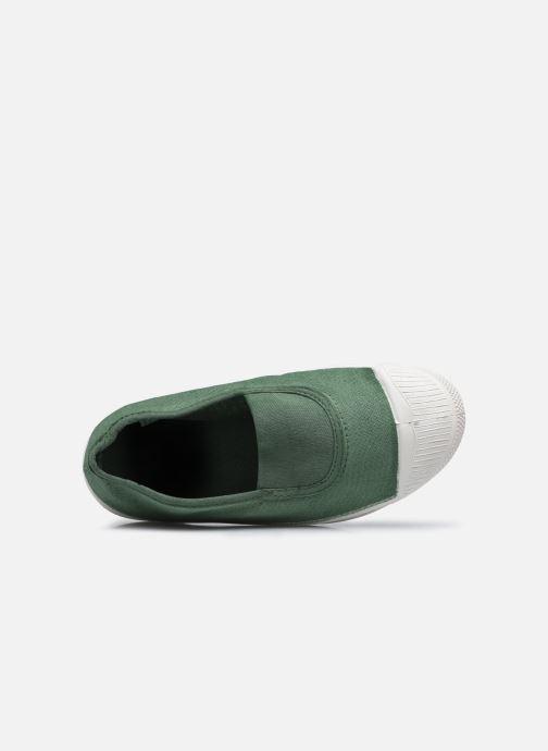 Sneakers Bensimon Tennis Elastique E Verde immagine sinistra