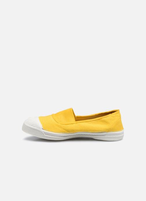 Sneaker Bensimon Tennis Elastique E gelb ansicht von vorne