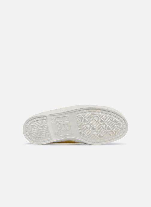 Sneaker Bensimon Tennis Elastique E gelb ansicht von oben