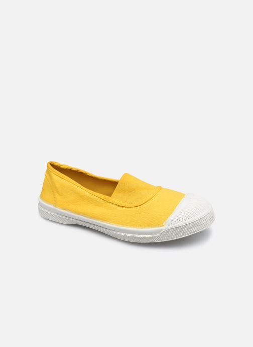 Sneaker Bensimon Tennis Elastique E gelb detaillierte ansicht/modell