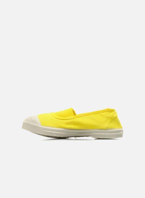 Sneakers Bensimon Tennis Elastique E Giallo immagine frontale