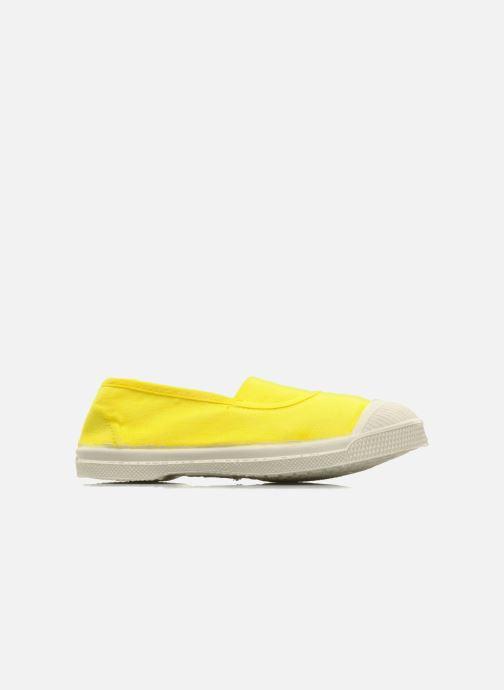 Sneakers Bensimon Tennis Elastique E Geel achterkant